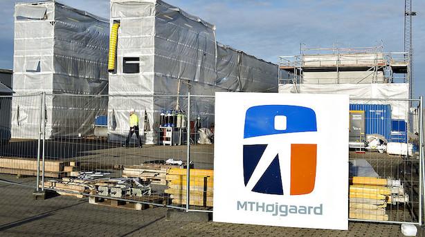 MT Højgaard får stryg på børsen efter nedjustering og direktørfyring