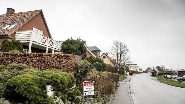 2019 starter med flere boliger til salg til højere priser