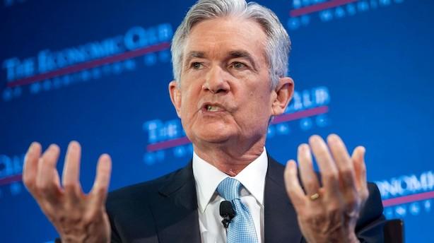 Federal Reserve-chef advarer om langvarig offentlig nedlukning