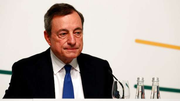 ECB holder topmøde i Sintra: Hold øje med Draghi-tale tirsdag kl. 10