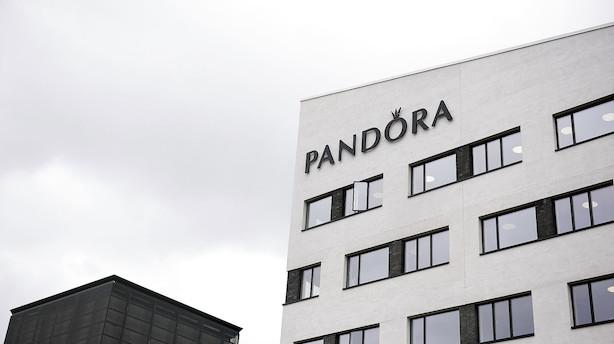 Markedet lukker: Pandora med bundplacering efter sænket kursmål