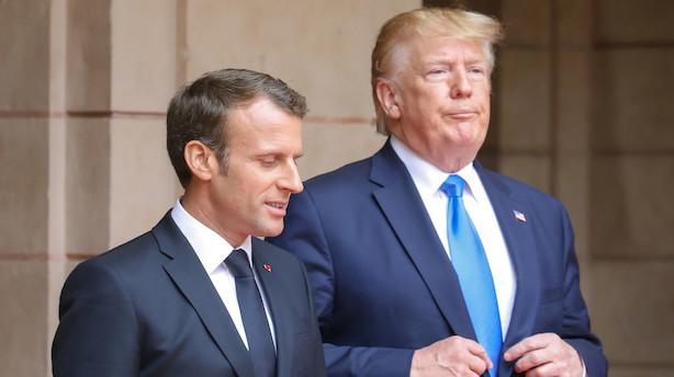 "Analytikere spændte på dagens G7-topmøde: ""Hvis Trump virkelig ryger i totterne på Macron eller Merkel, så kan det godt rykke en hel del"""