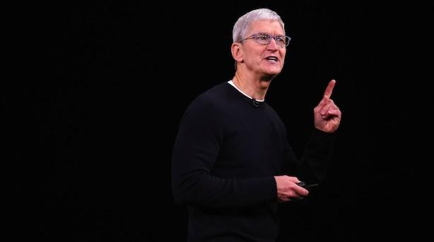 Apple igen mere end 1000 mia dollar værd