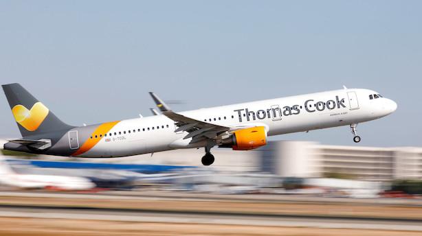 Presset Thomas Cook søger om konkursbeskyttelse