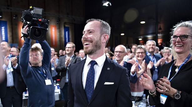 Dansk erhvervsliv ønsker Jakob Ellemann-Jensen tillykke med topposten i Venstre: Ser frem til samarbejdet