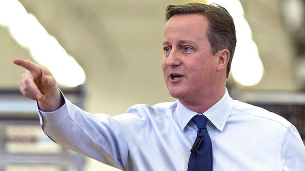 Cameron: Britisk EU-afstemning kan komme meget snart