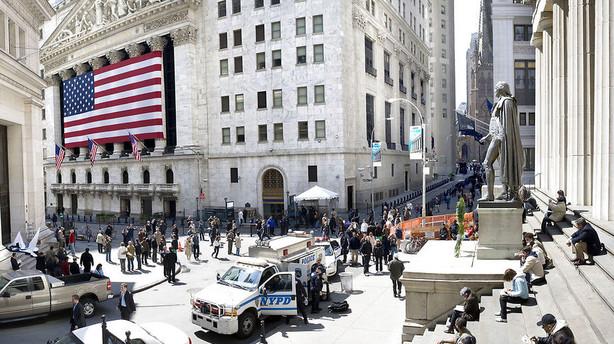 Feststemningen er forduftet p� de amerikanske aktiemarkeder