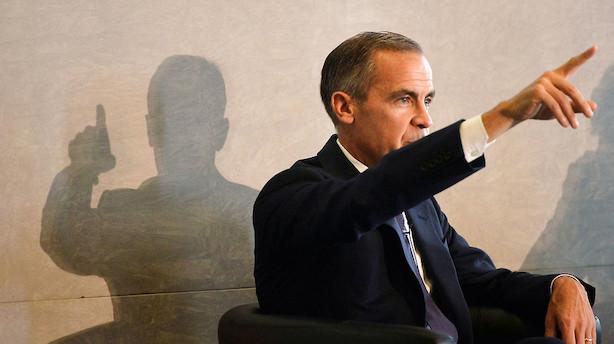Centralbank-boss: Første rentehop siden finanskrisen er lige om hjørnet