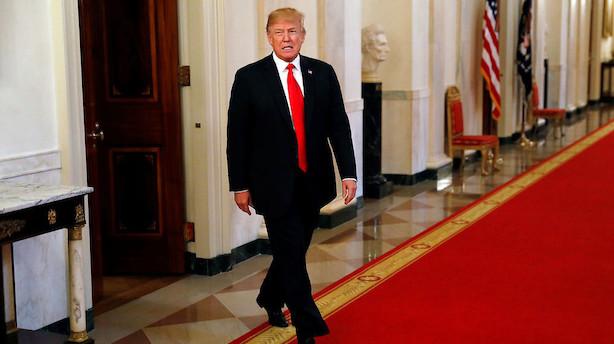 Analyse: Vild forvirring i Det Hvide Hus inden Trumps startskud til handelskrig