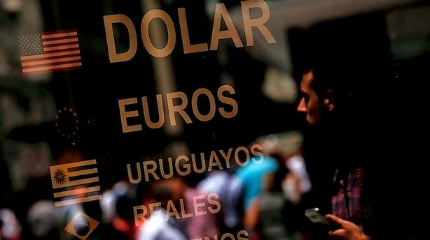 Argentina sætter renten op til 40 pct
