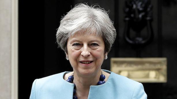 Medie: May er klar til at fortsætte i toldunion efter 2020