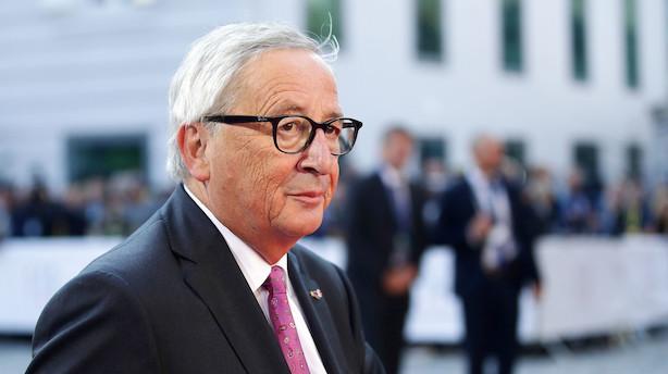 Juncker: Når vi ikke Brexit-aftale i oktober, når vi det i november