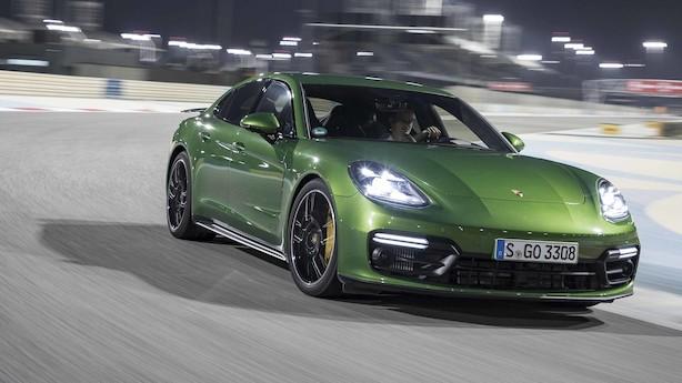 Porsche Panamera GTS: Fuld gas i den grønne raket