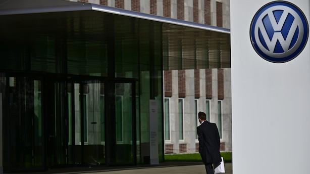 """Volkswagen-chef undskylder for Auschwitz-reference: """"Ebit macht frei"""""""