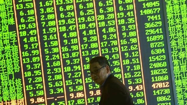 Aktier: Generelle stigninger i Asien men kinesiske aktier halter