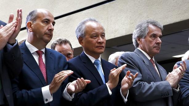 Kina beskylder USA for zigzagkurs i handelskrise