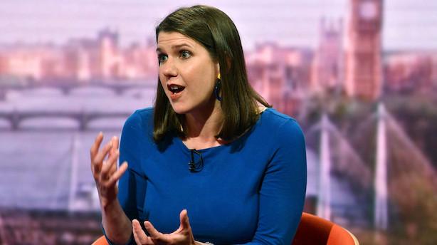 Brexit-modstandere i Liberaldemokraterne vælger ny leder