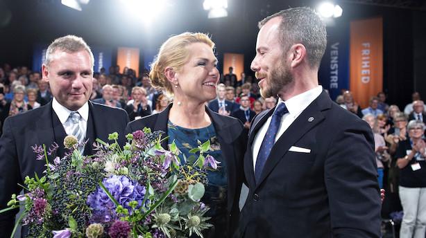 Venstre vælger Inger Støjberg som ny næstformand