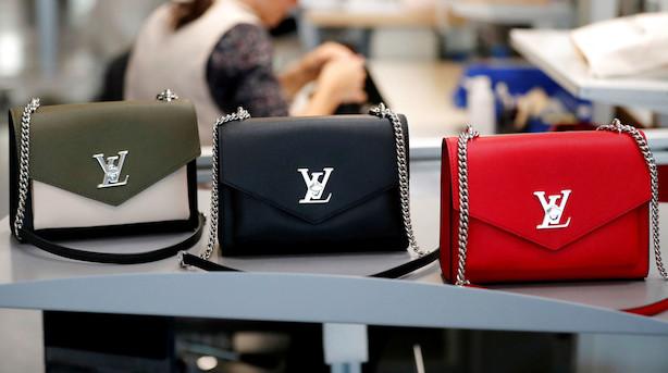 Louis Vuitton-ejer overrasker igen med høj organisk vækst