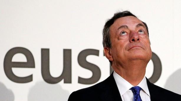 Det sker i dag: Lader Draghi sine gigantopkøb rulle en omgang mere?