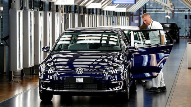 Medier: Volkswagen taget i snyd - skal betale 2,8 mia dollar i bøde