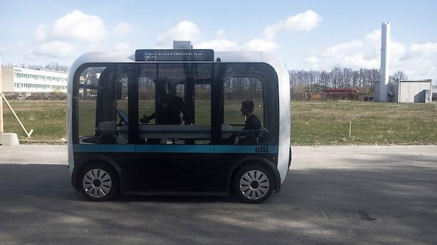 Den første selvkørende bus rykker nærmere