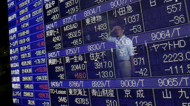 Aktier: Generelt stærkt divergerende udsving i Asien