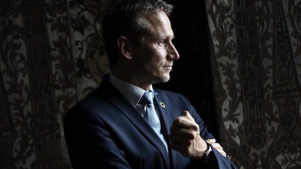 "Kristian Jensen var i USA, da Lehman Brothers krakkede: ""Folk var lamslåede"""