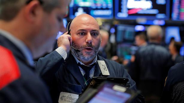 USA: Stærk afslutning på hård oktober for aktiemarkedet