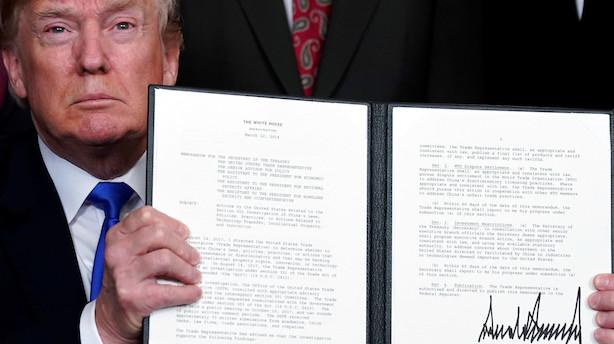 Handelskrig overskygger alt i rædselsfuldt aktieår