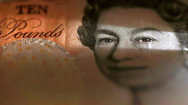 Valuta: Pund vender helt rundt og svækkes før ny brexit-afstemning