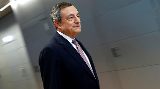 Det sker i dag: Rentemeddelelse fra ECB