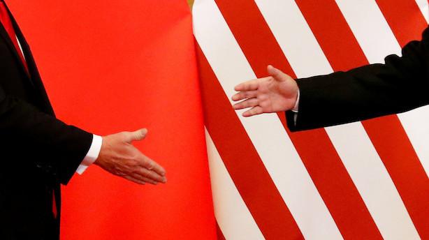 Aktiestatus i USA: Håb om delvis handelsaftale bider sig fast