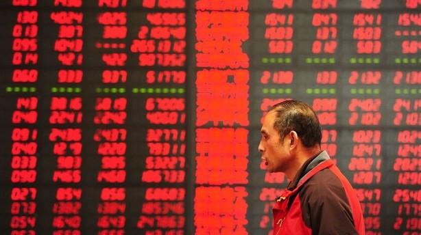 Kina rygtes at have interveneret på aktiemarkedet