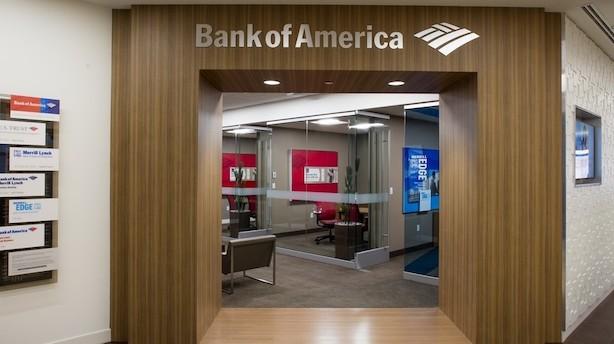 Bank of America øger overskud med 30 pct. i første kvartal