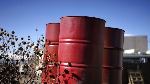 Råvarer: Stigning i amerikanske oliereserver giver prisfald