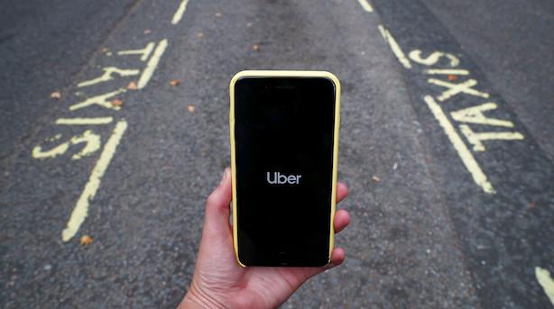 Medie: Uber på vej på børsen - kan børsnoteres til en værdi af knap 800 mia. kr.