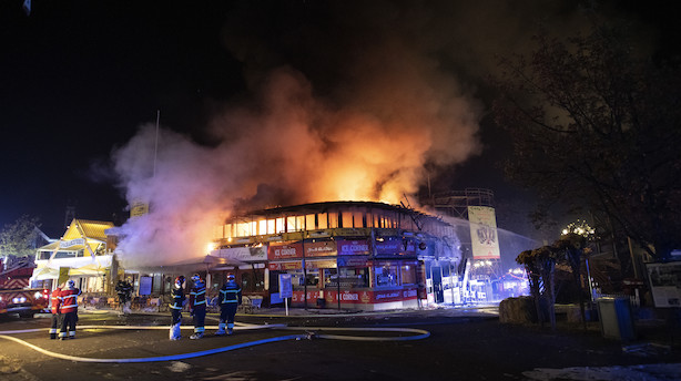 Bakken-chef efter brand: Heldigvis er der kun materiel skade