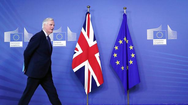 EU vil presse Storbritannien til at betale brexit-regning i ugerne efter no-deal