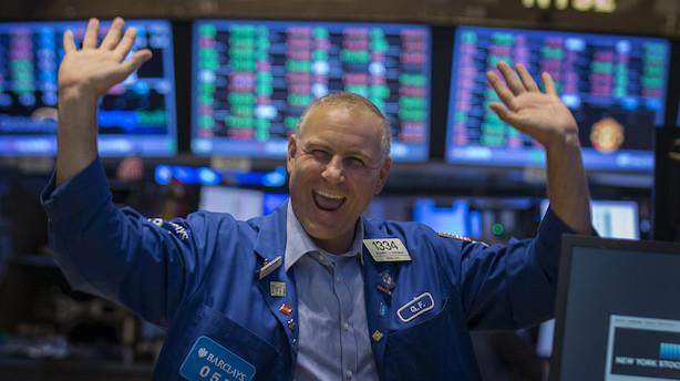 Dødvande på Wall Street – men fortvivl ikke for aktierne er steget 268 pct.