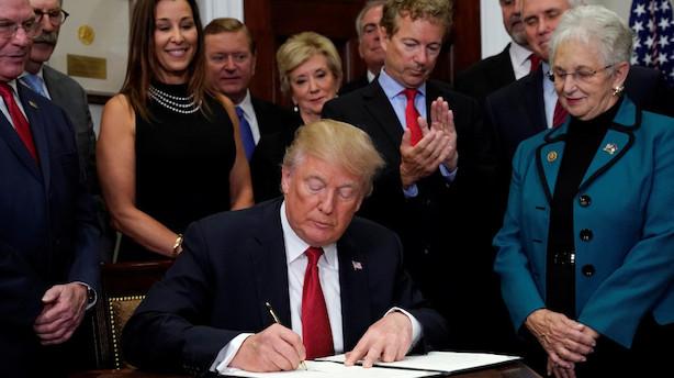 Trump gør nyt forsøg på at svække Obamacare