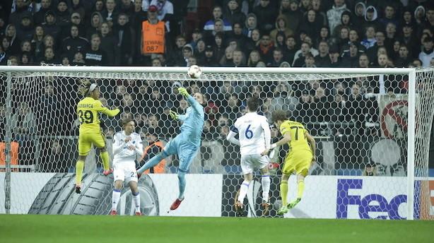 To identiske mål sender FCK videre i Europa League