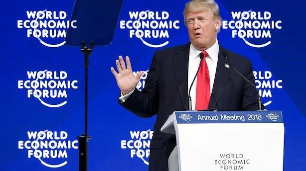 Thomas Bernt: Trump i Davos forbereder opgør med Kina om handel