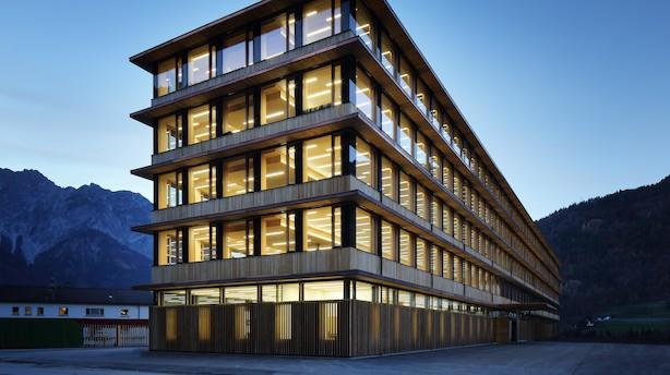 Ny teknik gør det muligt at bygge 100 m høje træhuse i Danmark