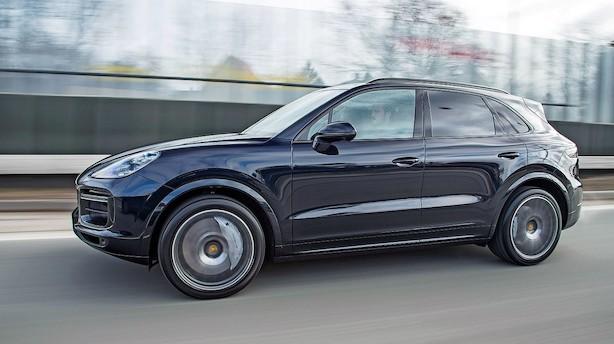 Test: Porsche Cayenne Turbo er hersker af Autobahn