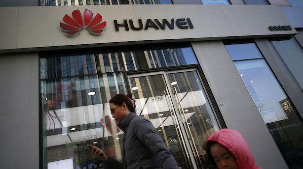 USA rejser svindeltiltale mod Huawei og finansdirektør