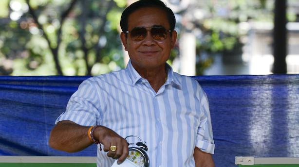 Måling: Oppositionsparti får flest stemmer i Thailand