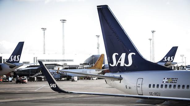 """SAS om piloters krav til forudsigelig vagtplan forud for varslet strejke: """"Vi skal flyve, når vores kunder vil flyve"""""""