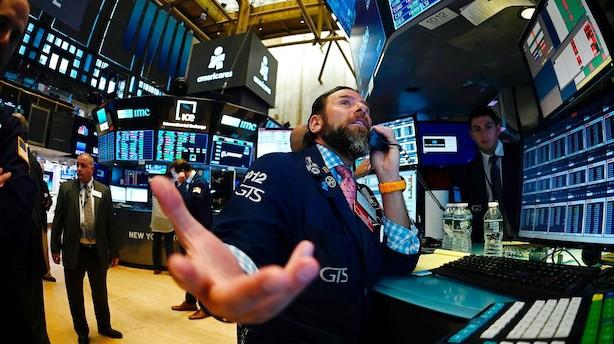 Aktieluk i USA: Flotte fredagsplusser - men endnu et ugeminus