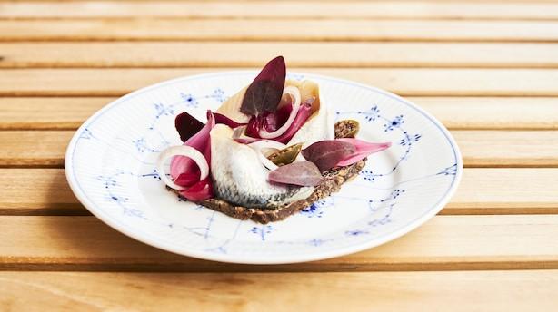 Ny elegant smørrebrødsrestaurant i den moderne stil
